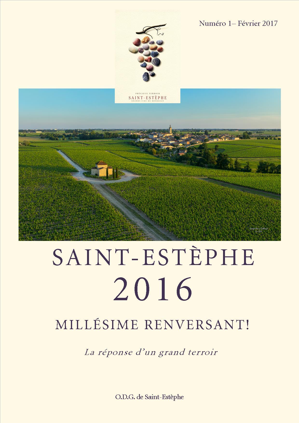 Carnet vendanges 2016 Saint-Estèphe