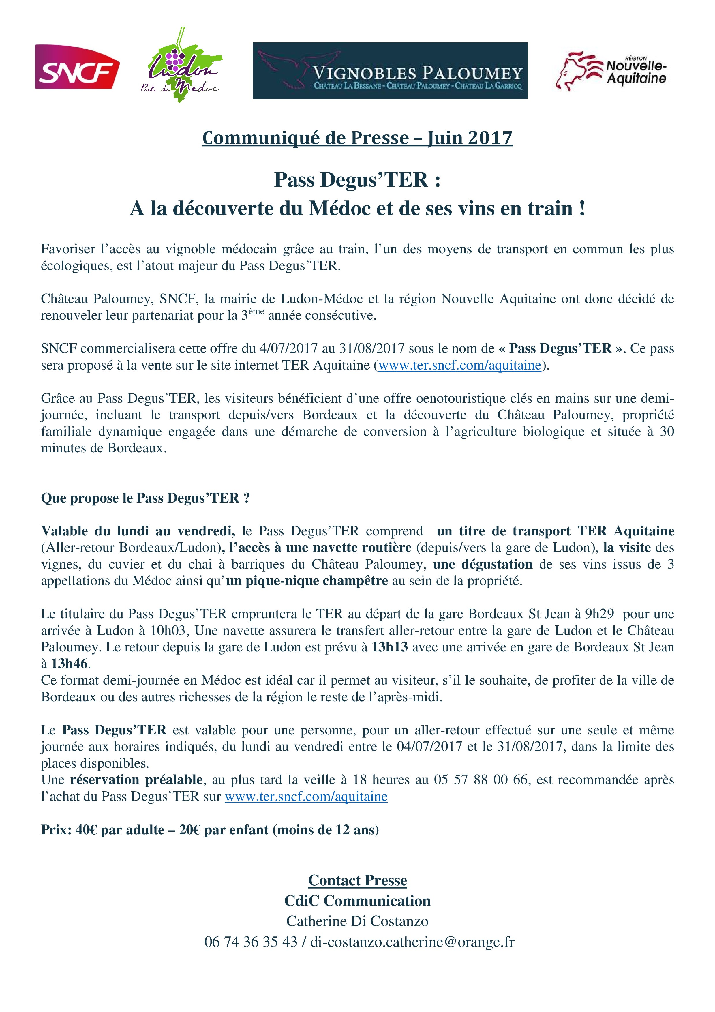 Communique_ de Presse Pass Degus'TER 16 juin 2017