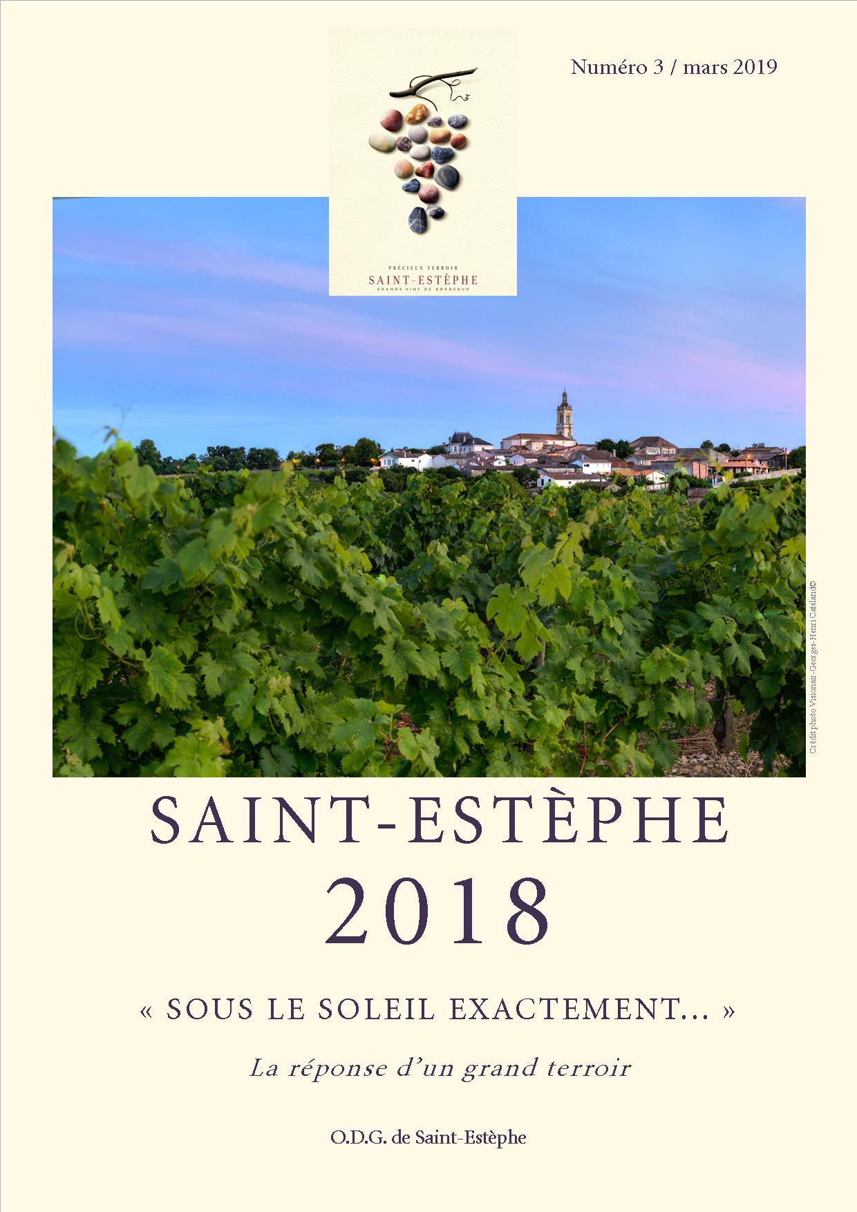 Carnet vendanges 2018 Saint-Estèphe